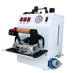 Парогенератор с утюгом Bieffe Maxi Vapor BF017CETRS имеет повышенную мощность подачи пара – 4,5 бар