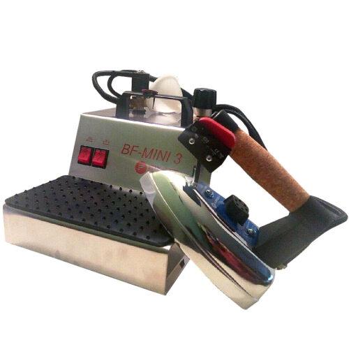 Парогенератор с утюгом Bieffe BF Mini 3 Inox- парогенератор для профессиональной утюжки с небольшим объемом бойлера 2,4 литра.