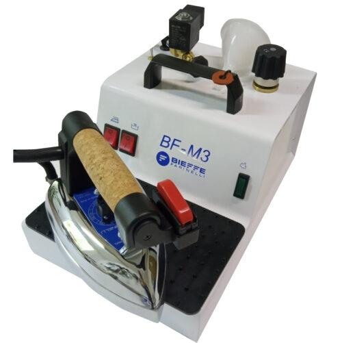 Парогенератор с утюгом Bieffe BF Mini 3 - парогенератор для профессиональной утюжки с небольшим объемом бойлера 2,4 литра.